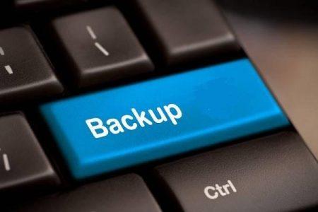 backup de arquivos